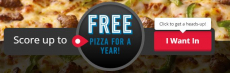 Win a FREE Specialty Chicken with the Purchase of a Menu-Price Pizza!