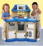 American Plastics Homestyle Play Kitchen only $33!