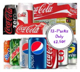 Coke and Pepsi 12 Packs Only $2.50 at Dollar General or Target!