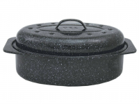Granite Ware Covered Oval Roaster Only $8.17 at Amazon!