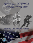 Free National POW/ MIA Recognition Day Poster