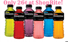 Powerade Only 26¢ at ShopRite – No Coupons Needed!