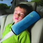 Car Safety Soft Seatbelt Shoulder Pad Headrest for Children $10.99 (REG $30.99)