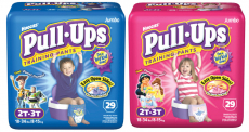 Pull-Ups Jumbo Pack Diapers Only $5.97 at Walmart!