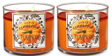 Select Pumpkin Scented 3-Wick Candles Only $10.75 Each Shipped!