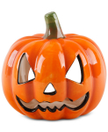 Macy's Home Essentials ceramic pumpkin on sale for $7.99