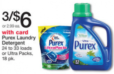 Purex Laundry Detergent Only $1.50 Each at Walgreens!