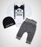 Newborn Baby Boy Clothes New to The Crew Letter $16.99 (REG $79.99)