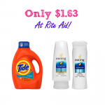 Tide & Pantene Only $1.63 at Rite Aid!