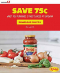 Ragu Coupon + Saucesome! Oven Baked Chicken Parmesan Ragu Recipe & Safeway Gift Card Giveaway!
