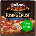 Red Baron Pizzas Only $2.50 At Target After New Printable Coupon And Cartwheel!