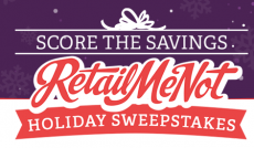 RetailMeNot Holiday Instant Win Game- Win 1 of over 5,930 Gift Cards!!!