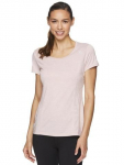 3 for $20 – Reebok Women's Fitted Performance Varigated Heather Jersey T-Shirt -(78% Off)