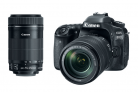 Refurbished Canon DSLR Bundles: 80D w/ 18-135mm + 55-250mm Lenses -$749.99(48% Off)