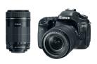 Refurbished Canon DSLR Bundles: 80D w/ 18-135mm + 55-250mm Lenses -$749.99(48% Off)