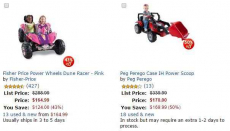 Ride-On Toys Up to 50% off!
