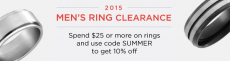 2015 Men's Ring Clearance Sale, as Low as $3.99 Shipped!