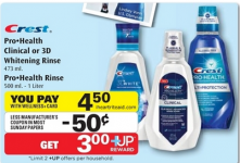 FREE Crest Pro Health Rinse at Rite Aid!