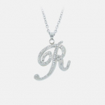 Steeling Beauty Initials Necklaces Only $11.99! (reg. $55)