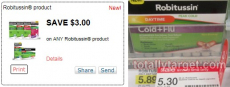 3 FREE Robitussin + $3.69 Moneymaker at Target?!