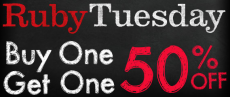 Ruby Tuesday: BOGO 50% Off Entrée + $5 Off + Free Kids Meal!