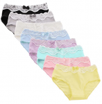 Follnie Teen Girls Panties Cotton Bikini Hipster Underwear$15.59 (REG $39.99)