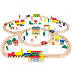 100pc Hand Crafted Wooden Train Loop Toy Play Set Only $38.99 (reg $90) Shipped!
