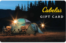 $100 Cabela's Gift Card Only $80 Shipped!