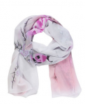 Picapica Peony Flower Print Soft Chiffon Shawl Scarves Only $1.99 Shipped!