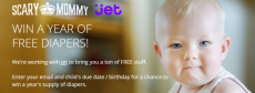 Win a Year's Supply of Diapers From Jet.Com!