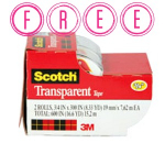 HOT! FREE Scotch Tape 2 Pack at Target!