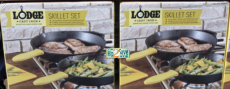 HOT! Lodge Cast Iron Skillet Set only $36.99 at Costco!