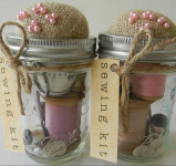 DIY: Sewing Kit Jar Gift