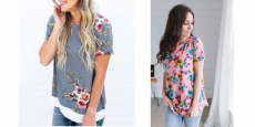 Floral Top Clearance Only $11.99 + FREE Shipping!