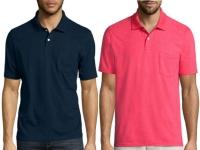 St. John's Bay Short-Sleeve Pocket Polo Shirt Only $7.64 + FREE Pickup!