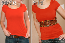 DIY: How to Lengthen a Shirt That is Too Short!