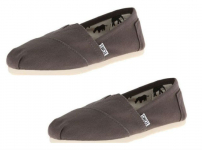 Toms Canvas Ankle-High Flat Shoe Only $17.99 Shipped!