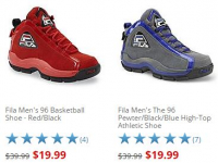 Fila Men's Basketball Shoes only $19.99 (reg $39.99) at Sears!