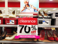 Women's Shoes at Target only $7.31 (reg $29.99)!