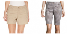 St. John's Bay or a.n.a Shorts Only $7.99 (Reg $30) + FREE Pickup!