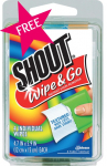 FREE Shout Wipe & Go 4 Pack at Walmart!