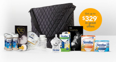 FREE Containers of Similac Formula, Coupons and a Bottle ($329 value)