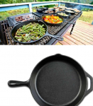 Lodge 10.25″ Pre-Seasoned Cast Iron Skillet Only $14.88 Shipped!