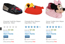Children's Character Slippers Only $4 Shipped! (Reg. $12.99!)
