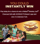 FREE Hershey's S'mores Weber Grill!
