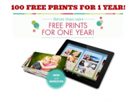 Snapfish: 100 FREE Photo Prints EVERY Month for 1 Year!