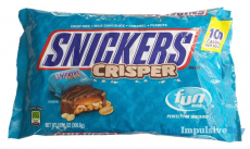 Snickers Crispers Only $0.92 (reg $3) at Target!
