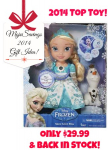 TOP TOY-Disney Frozen Snow Glow Elsa only $29.99 Back in Stock at Target.com!