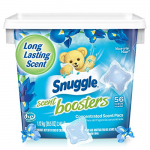 Snuggle Laundry Scent Boosters Concentrated Scent Pacs $6.97(REG $10.99)