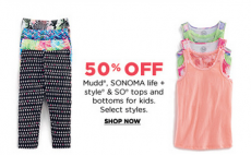 Kohl's: Today Only! Take an Extra 30%, 20% or 15% Off + Hot Doorbuster Deals!